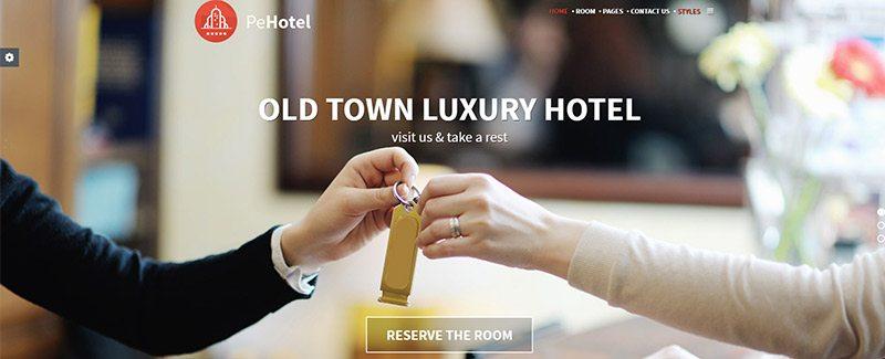 10 th mes wordpress pour cr er un site web d 39 h tel for Meilleur site de reservation hotel en ligne