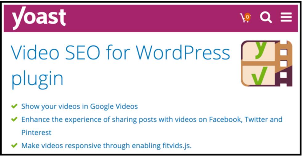 Yoast vidéo seo for wordpress