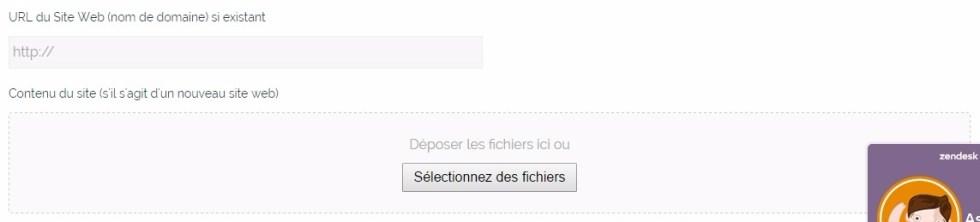 Envoyer des fichiers sur blogpascher