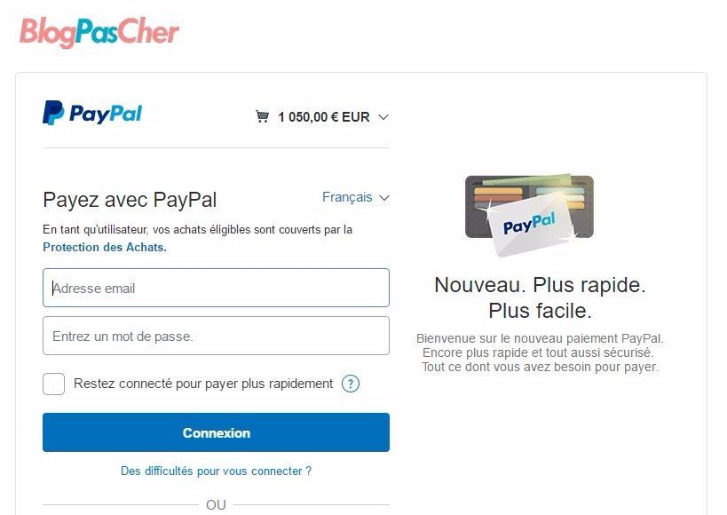 Pr sentation du nouveau formulaire de commande personnalis e de blogpascher blogpascher - Paypal paiement en plusieurs fois ...