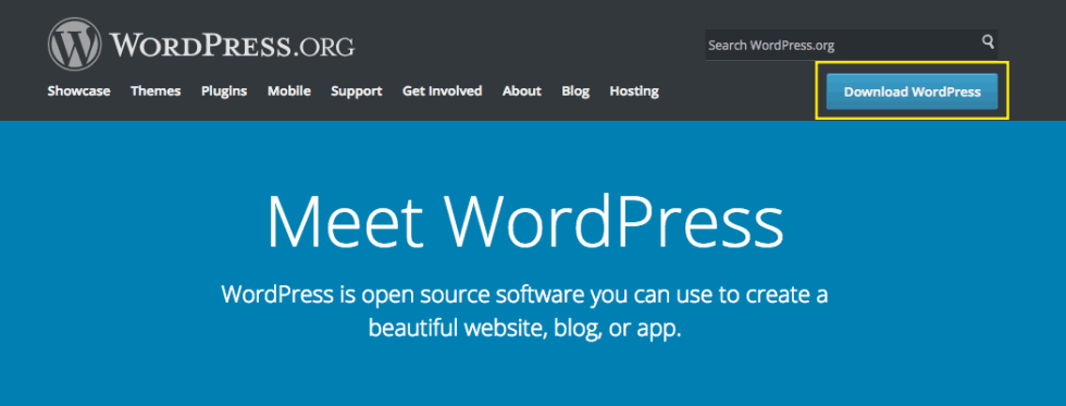 WordPress'i indirin
