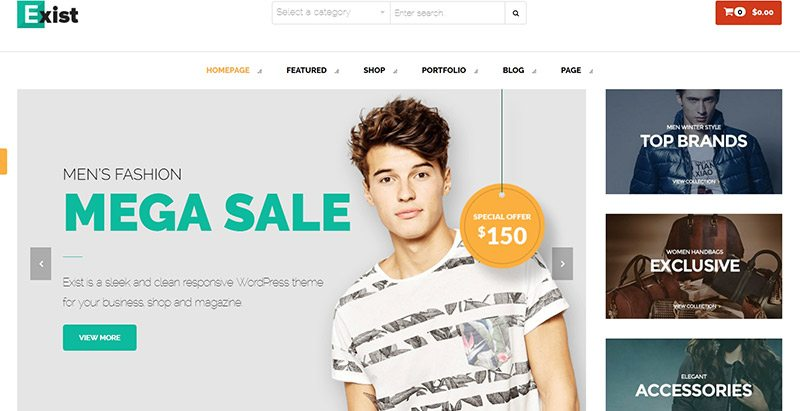 10 WordPress Themes to Create an e-Commerce Website