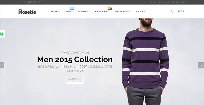 10 WordPress temas para crear un sitio web de comercio electrónico ...