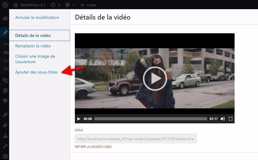 Cómo añadir subtítulos a un video en WordPress   BlogPasCher