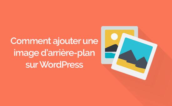 Cómo agregar una imagen de fondo en WordPress | BlogPasCher