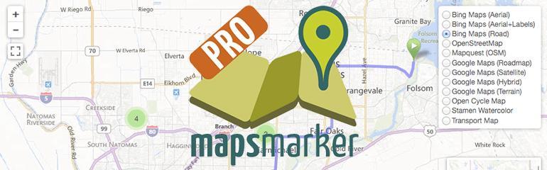 Mapsmarkerpro wordpress plugin