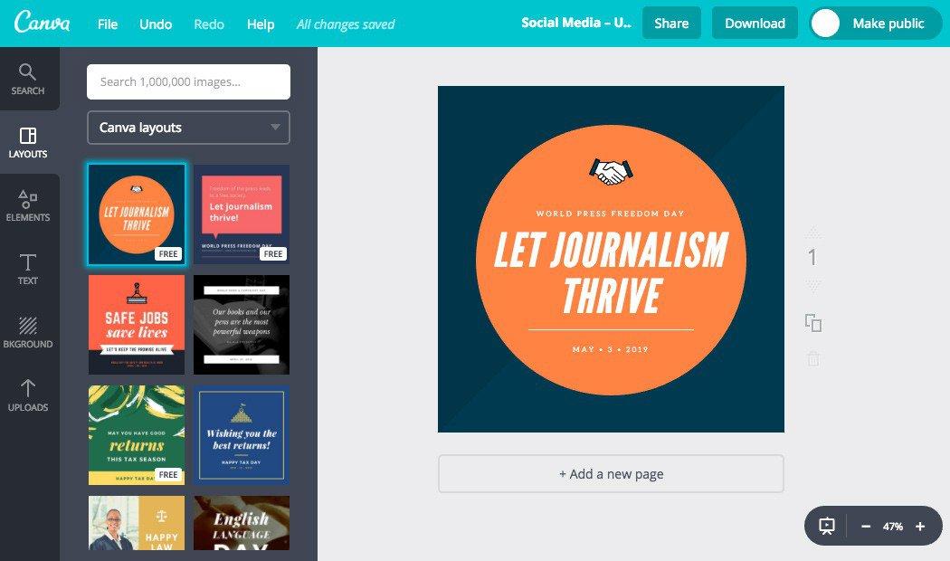 El uso de Canva para crear imágenes para tu blog | BlogPasCher