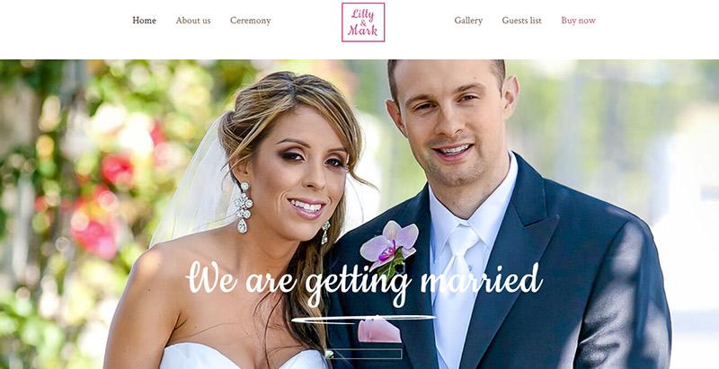 Betheme themes wordpress creer site web mariage fiancailles epouse marie mariee