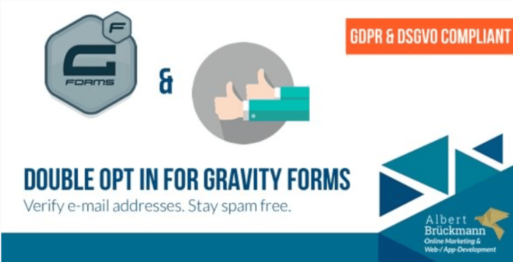 Double opt in for gravity forms plugin wordpress