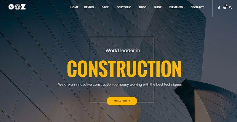 Temas de WordPress para crear un sitio web de negocios de ...