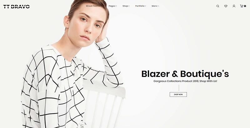 Tt bravo meilleurs thèmes WordPress d'e-Commerce pour créer un site web de boutique en ligne