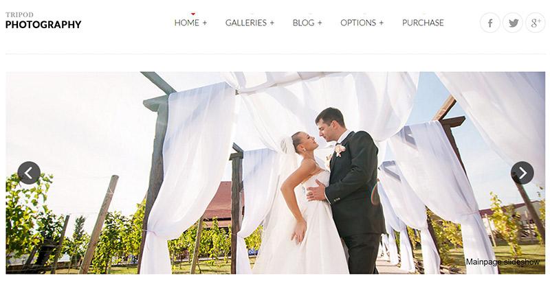 20 Temas de WordPress para crear un sitio web de la boda | BlogPasCher