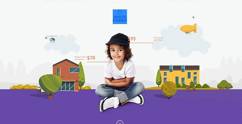 Whiterabbit themes wordpress creer site web mode e commerce boutique en ligne vetements