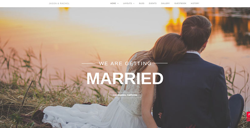 Qaween Themes Wordpress Creer Site Web Mariage Fiancailles Epouse Marie Mariee