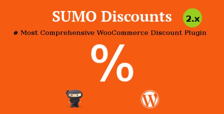Sumo discounts plugin wordpress pour réduction