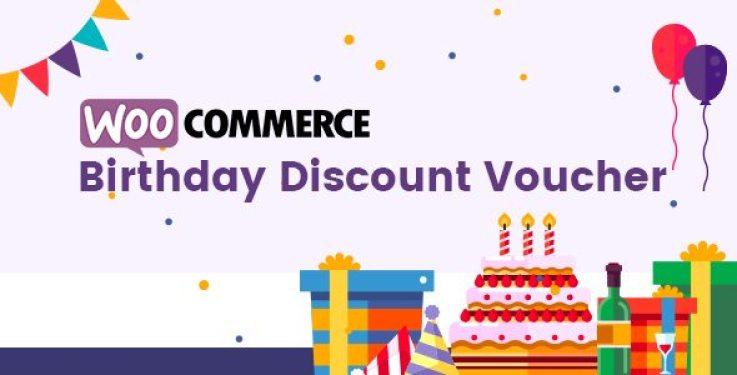 Woo birthday discountvoucher plugin wordpress pour réduction
