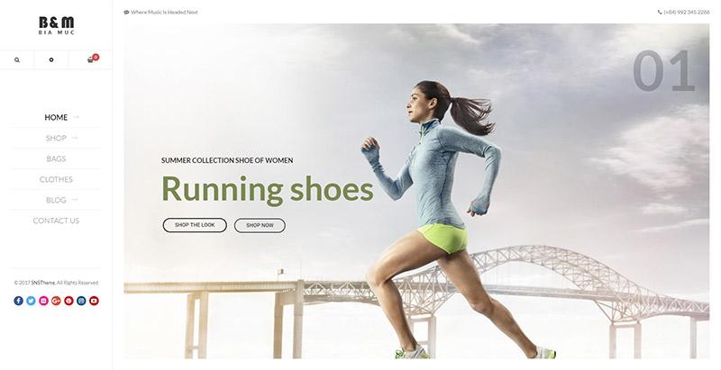 Biamuc themes wordpress creer boutique en ligne vetements bijoux chaussures mode