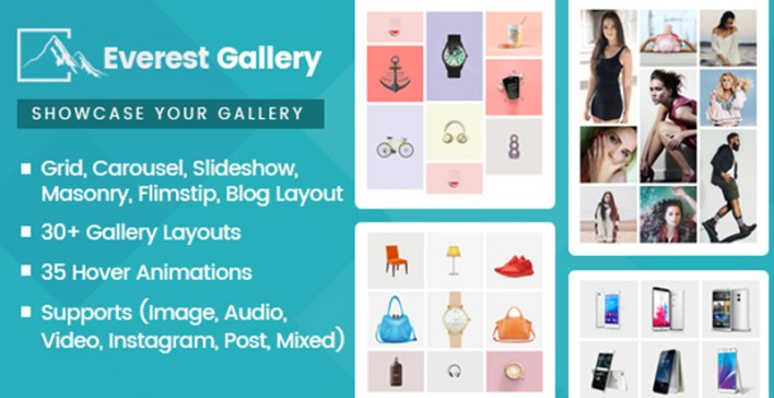 Everest gallery plugins wordpress ajouter galerie portfolio site web blog