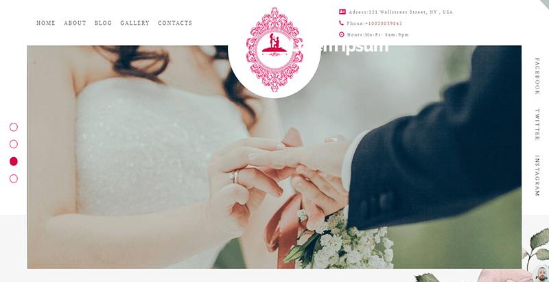 créer un site Web de mariage - Foreverlove