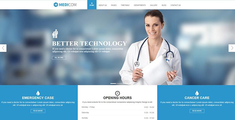 Temas de WordPress para crear el sitio web de un centro de salud ...