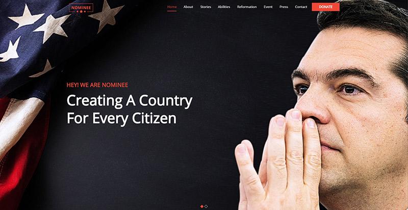 meilleurs thèmes WordPress pour créer un site web de campagne électorale