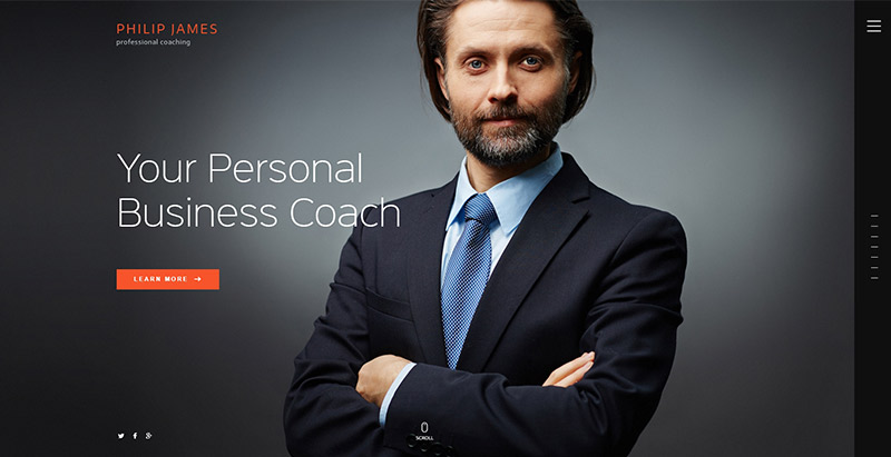 Pj themes wordpress creer site web coaching vie sante developpement personel nutrition