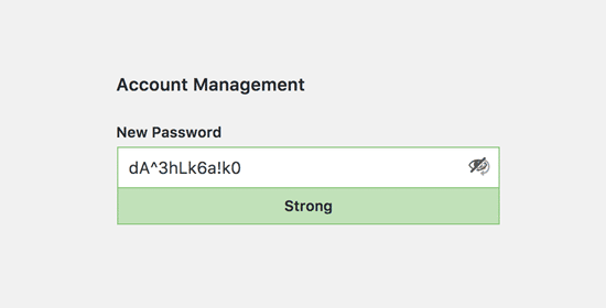 Modifier le mot de passe