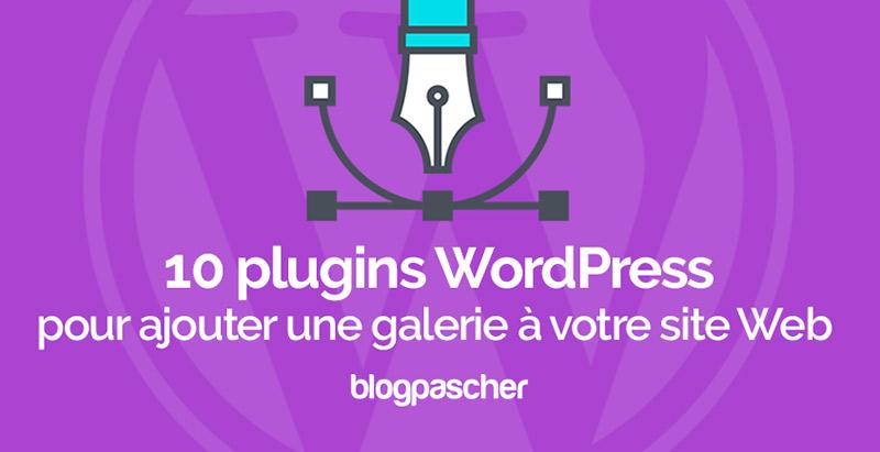 Plugins Wordpress Ajouter Galerie Portfolio Site Web Blog