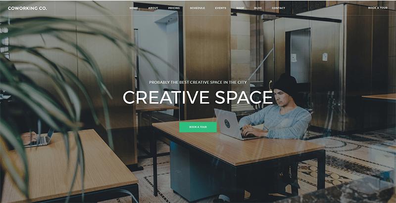 8 thèmes wordpress pour créer un site web dentreprise de coworking