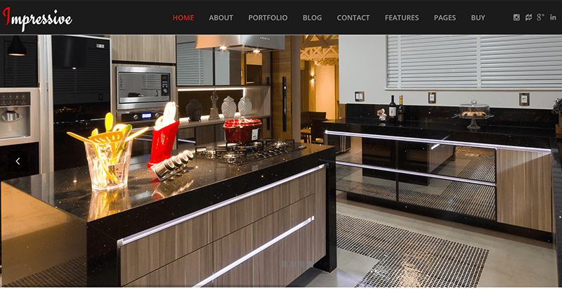 Impressive themes wordpress look sombre creer site web creative ecommerce magazine entreprise