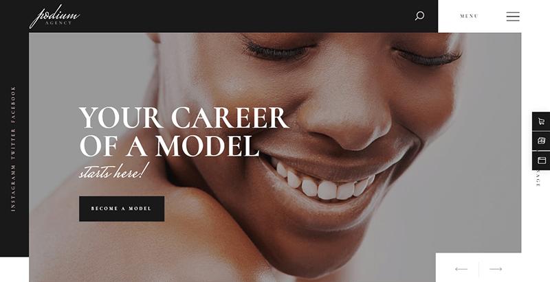 Podium theme wordpress creer site web top model