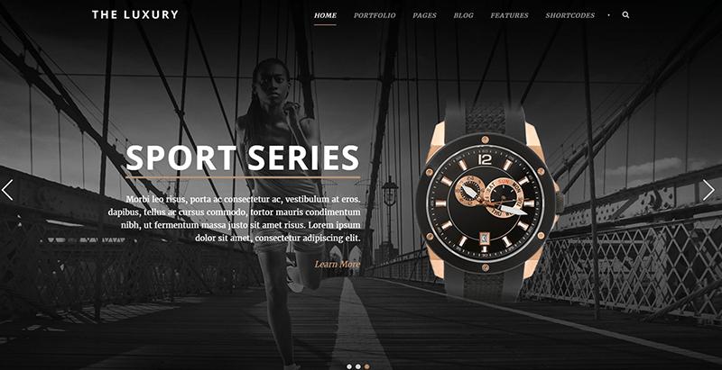 The luxury themes wordpress look sombre creer site web creative ecommerce magazine entreprise