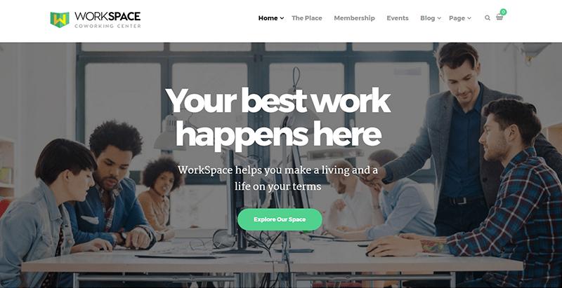 Temas de 8 WordPress para crear un sitio web de negocios de ...