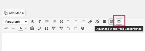 Ajouter adavanced wordpress background