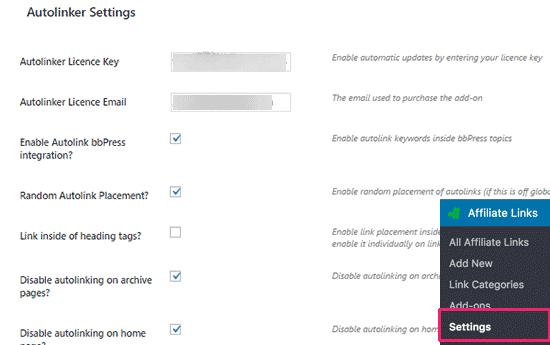 Cómo vincular automáticamente palabras clave a enlaces de afiliados ...