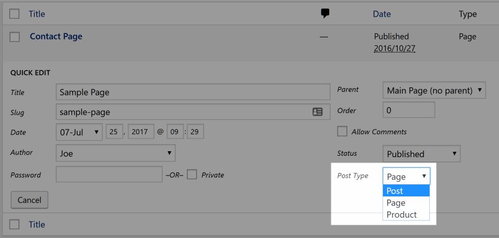 Modification darticle en masse wordpress