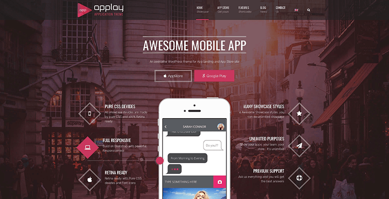 Applay themes wordpress creer site web applications mobiles logiciel