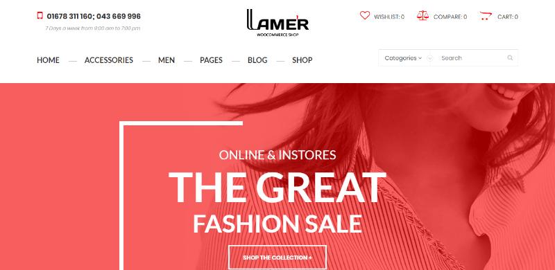 d335bde83750aa Temas 10 WordPress para criar uma loja de roupas on-line | BlogPasCher