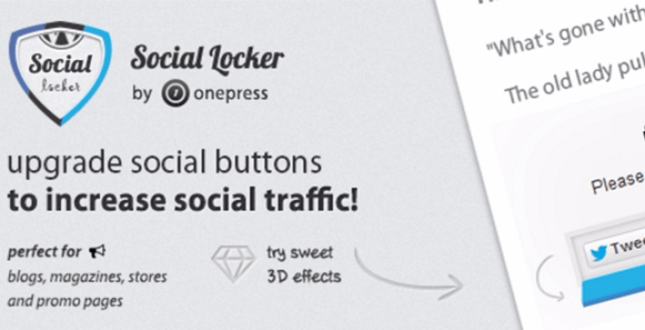 Social locker plugins wordpress verrouiller contenus site web