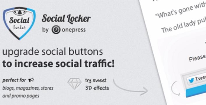 I plugin wordpress per social locker bloccano il contenuto del sito web