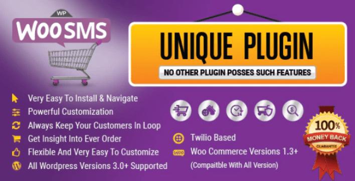 Wordpress woo commerce sms notifications plugin wordpress