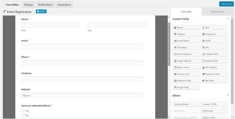 formulaire d'enregistrement à un evenement weforms.jpg