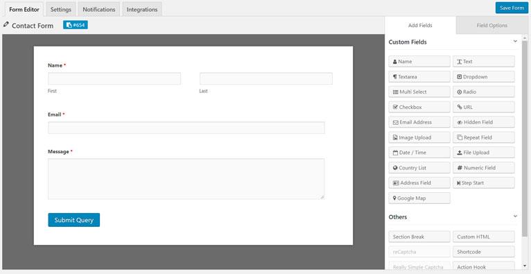 modèle de formulare de contact weForms.jpg