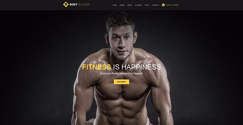 10 thèmes WordPress pour créer tout site Web de club de fitness ou de yoga