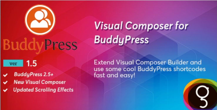 Buddypress for visual composer