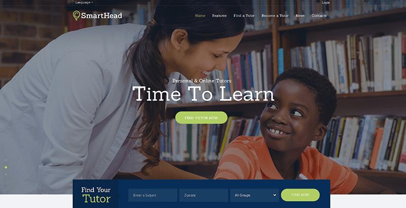 Smarthead themes wordpress creer site web elearning education formation