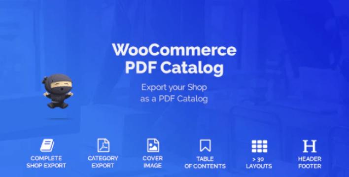 Woocommerce pdf catalog plugin wordpress
