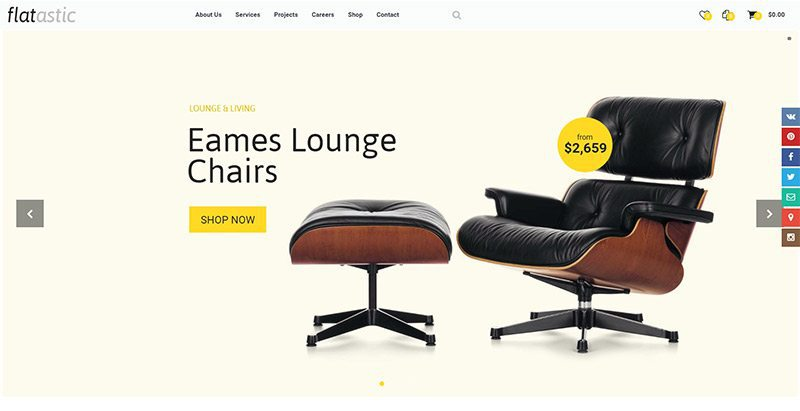 Flatastic themes wordpress creer site marketplace ecommerce