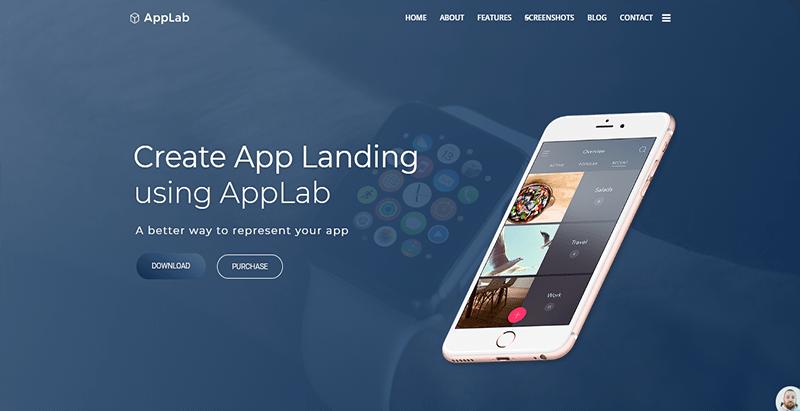 Тема applab wordpress создать бизнес-сайт