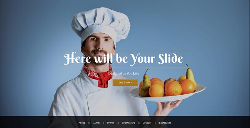 Bon appetit themes wordpress creer site internet restaurant cafe pizzeria